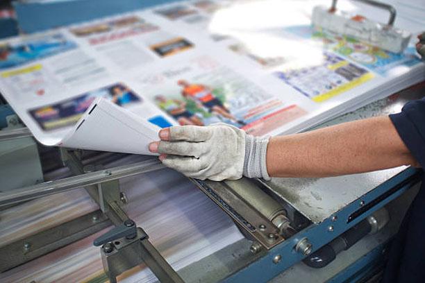 post press finishing line machine: cutting, trimming, paperback and binding